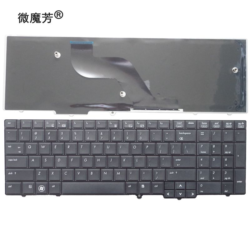 US laptop keyboard FOR HP FOR Probook 6540B 6545B 6550B 6555B 6540 6545 English keyboard-in Replacement Keyboards from Computer & Office on