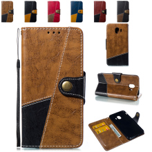 Flip Case for Samsung j400 smj400 J400F Galaxy J4 2018 5.5 inch SM-J400F/DS SM-J400G/DS SM J400F/DS J400G/DS Leather Cover