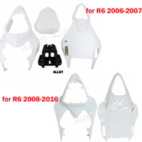 Unpainted Rear Tail Fairing Cowl Fits for Yamaha YZF R6 2006 2007 2008 2009 2010 2011 2016