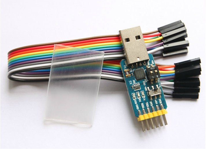 Liuhe Multi Function Serial Module, CP2102, USB, TTL 485232, Mutual 3.3V/5V (H5A3) cp2102 usb to ttl stc promini download module for arduino