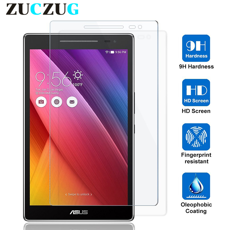 Screen-Protector Z170CX P01Y P01Z ASUS Protective-Film Tablet Tempered-Glass 9H For Zenpad