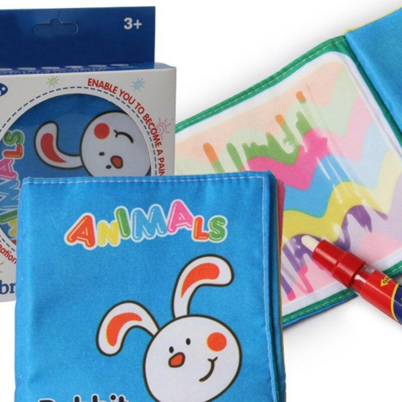 PlayToday маленьких история ткань английский Магия воды граффити Вода Рисование раннего обучения Развивающие игрушки ребенка познавательная с...
