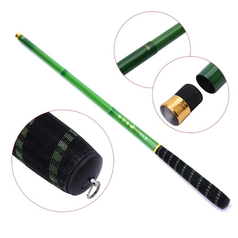 Fishing Rod 3.6-7.2m Pole High Carbon Fiber Ultra Light Telescopic Carp Current Summer Fishing