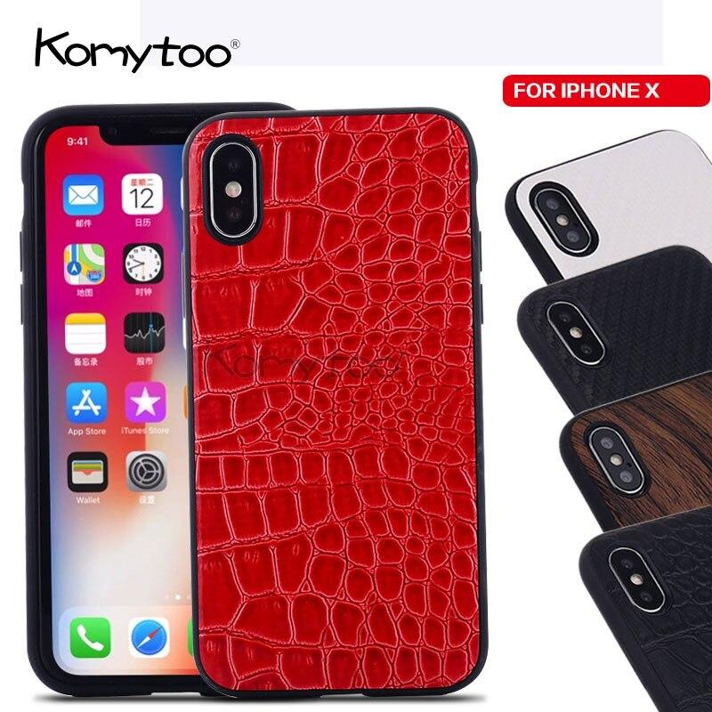 ТПУ деревянный кожи чехол для iPhone 6 7 8 Plus X 10 чехлы задняя крышка ультра тонкий чехол для samsung s8 S8 плюс защитный Coque Shell
