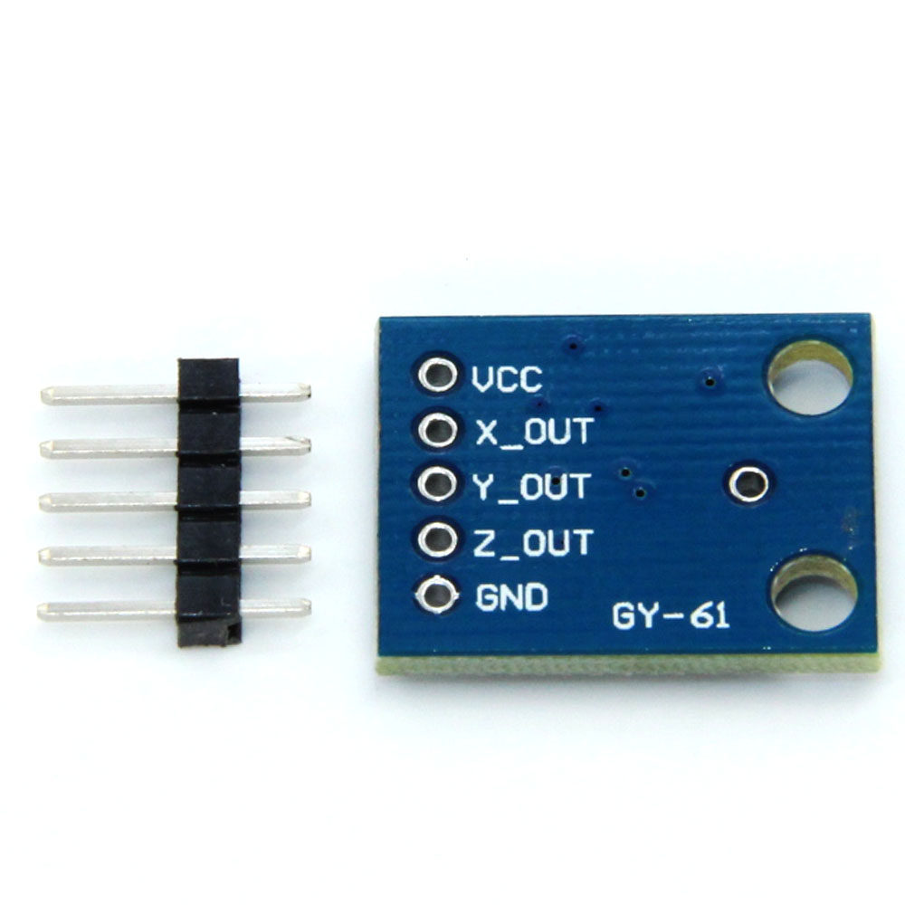 US $15 0  5PCS ADXL335 3 Axis Compass Accelerometer Module GY 61 for  arduino-in Replacement Parts & Accessories from Consumer Electronics on