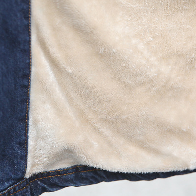Coatwomen Capuchon Veste Mode Manteau girl Nouveau Denim Épais Cow Mince De Chaud À Hiver Mme 1 Femmes Coton 2018 Sauvage Long 8r8wq6a