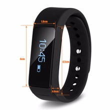 Excelvan I5 Plus Smartband Bracelet Bluetooth Waterproof Touch Screen Fitness Tracker Health Wristband Sleep Monitor Smart Watch