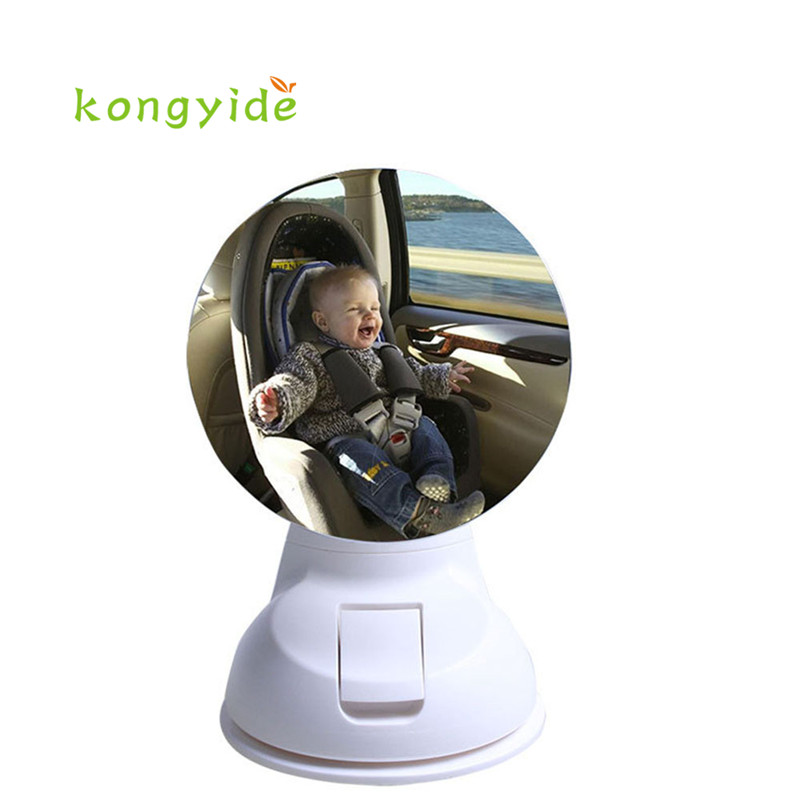Car Children Baby Back Seat Mirror Rear View Adjustable Safety Sucker espelho retrovisor espejo retrovisor new gift 17june20