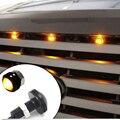 4 шт. Янтарный/белый/синий Светодиодная подсветка решетки комплект  Универсальный Подходит грузовик внедорожник SVT Raptor