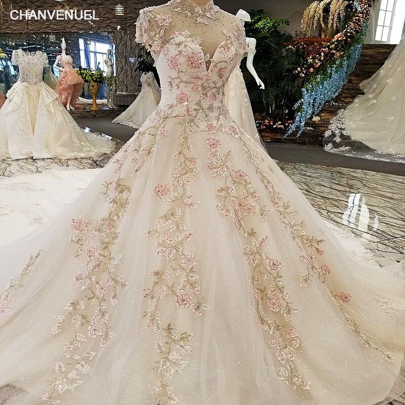 LS00317lace flowers luxury   evening     dresses   2017 vestido de festa vestidos de fiesta largos elegantes de gala robe longue abiye
