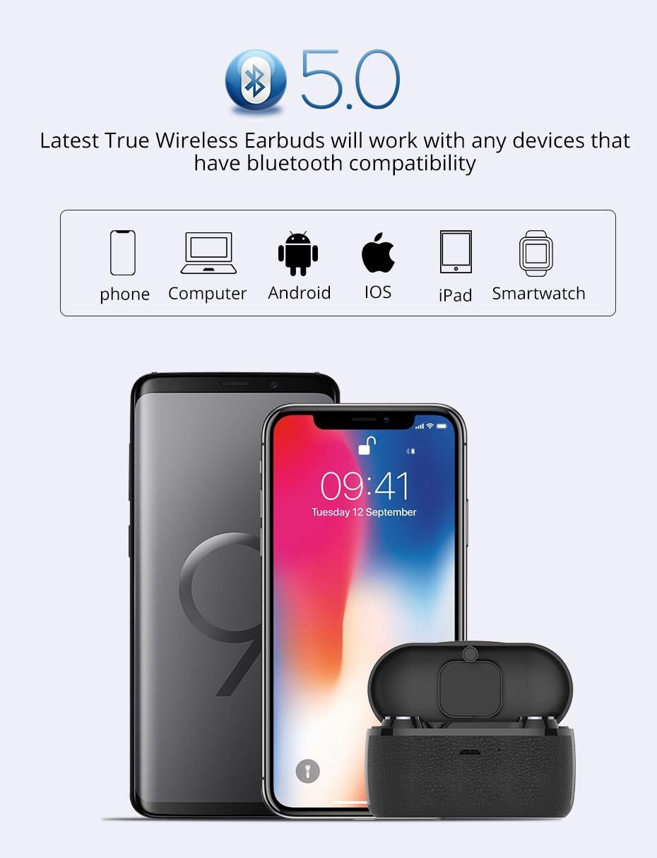 langsdom TWS bluetooth earphone for phone wireless  (9)