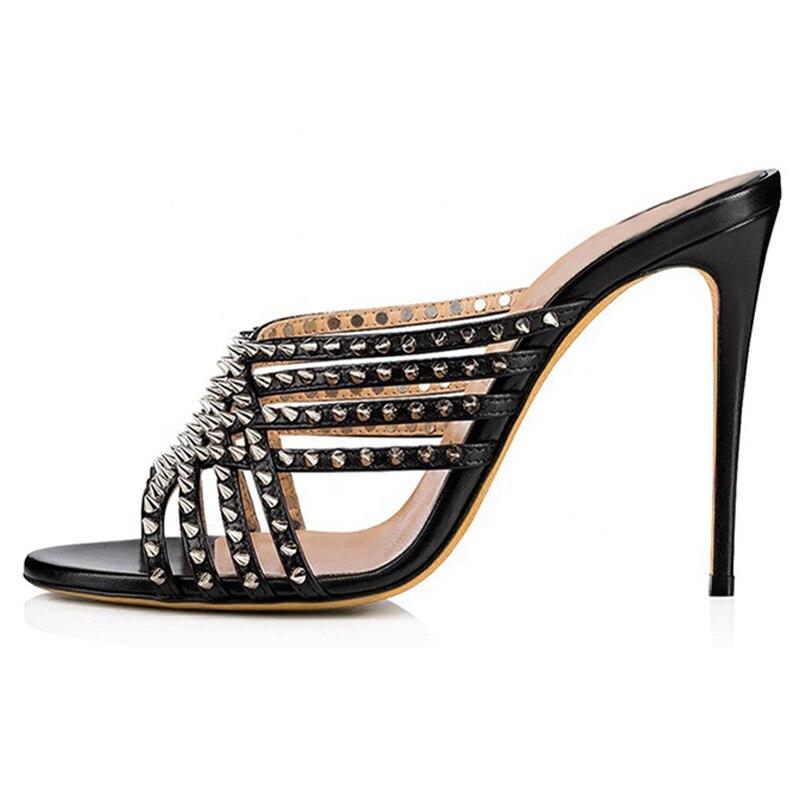 Stylish-Black-Open-Toe-High-Heel-Mules