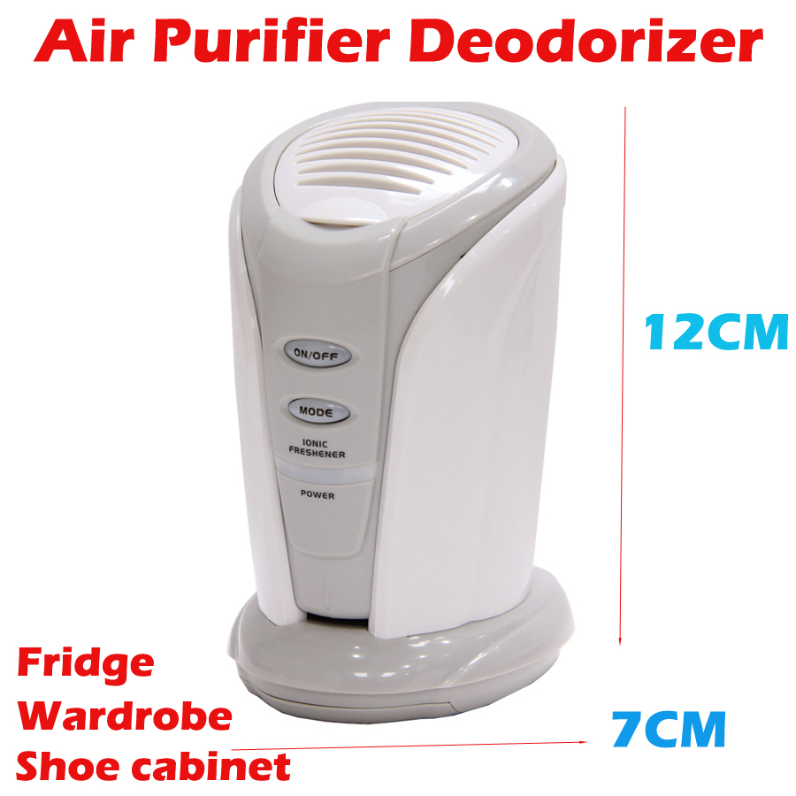 Ions Ionizer Deodorizer Fridge ozone generator filter air purifier oxygen Refrigerator Air Purifier pro fridge fresh cleaner