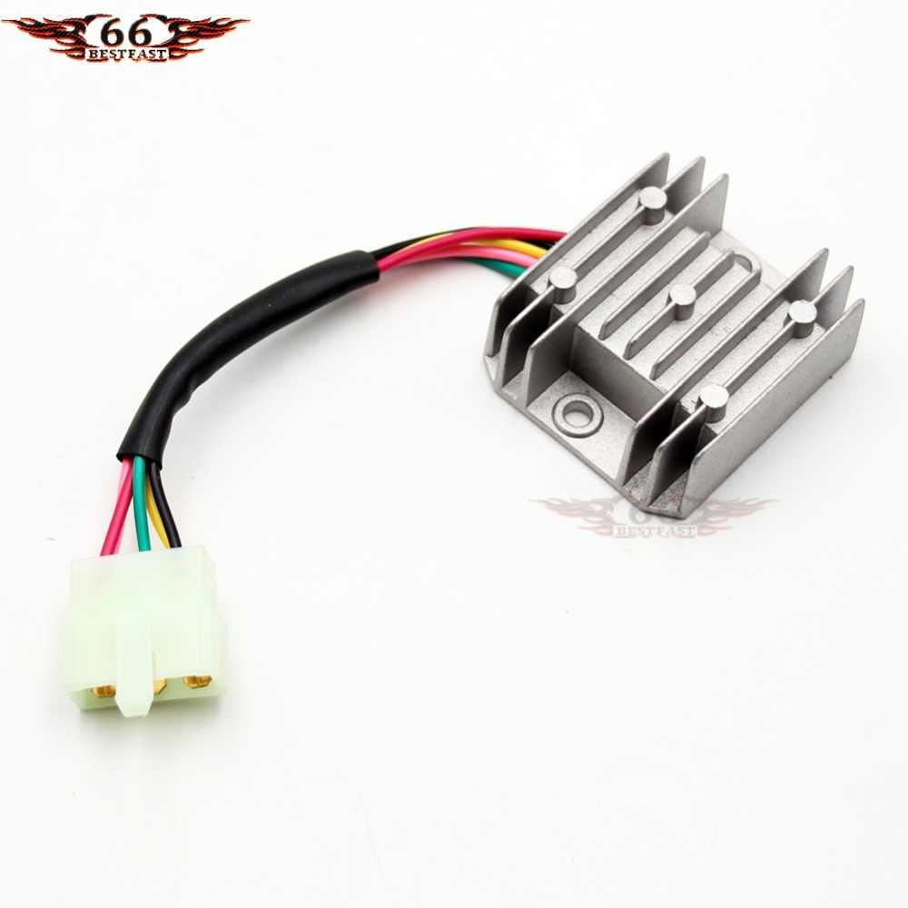 4 Wire Atv Voltage Regulator Wiring Diagram Free Picture ...  Wire Atv Voltage Regulator Wiring Diagram on