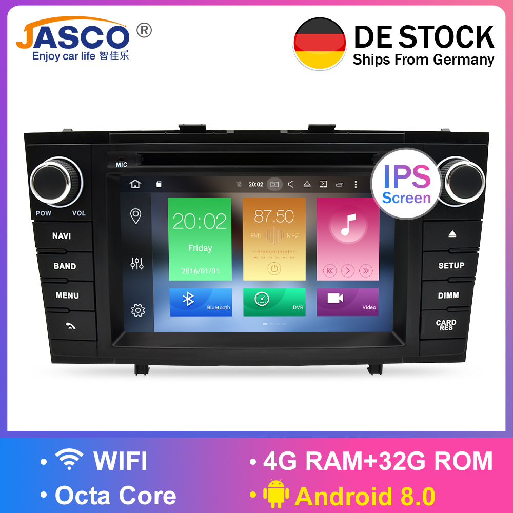 Android 9.0 Car DVD Stereo Multimedia Headunit For.Toyota T27 Avensis 2009-2014 Auto PC Radio GPS Navigation Video Audio 4G RAM