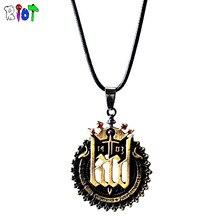 RPG игра Kingdom Come: избавление Цепочки и ожерелья воск веревку цепи кулон Для мужчин женщина ювелирный сплав аксессуары поклонников подарок доставка