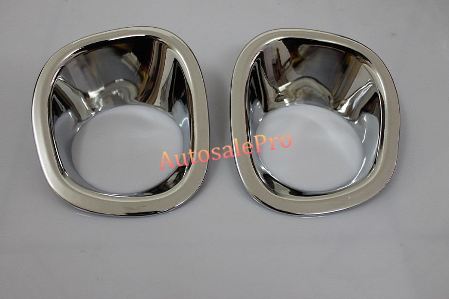 ABS Chrome Front and Rear Fog Light Lamp Cover Trim For Nissan X-Trail X Trail T31 2008 2009 2010 2011 2008 2009 2010 2011