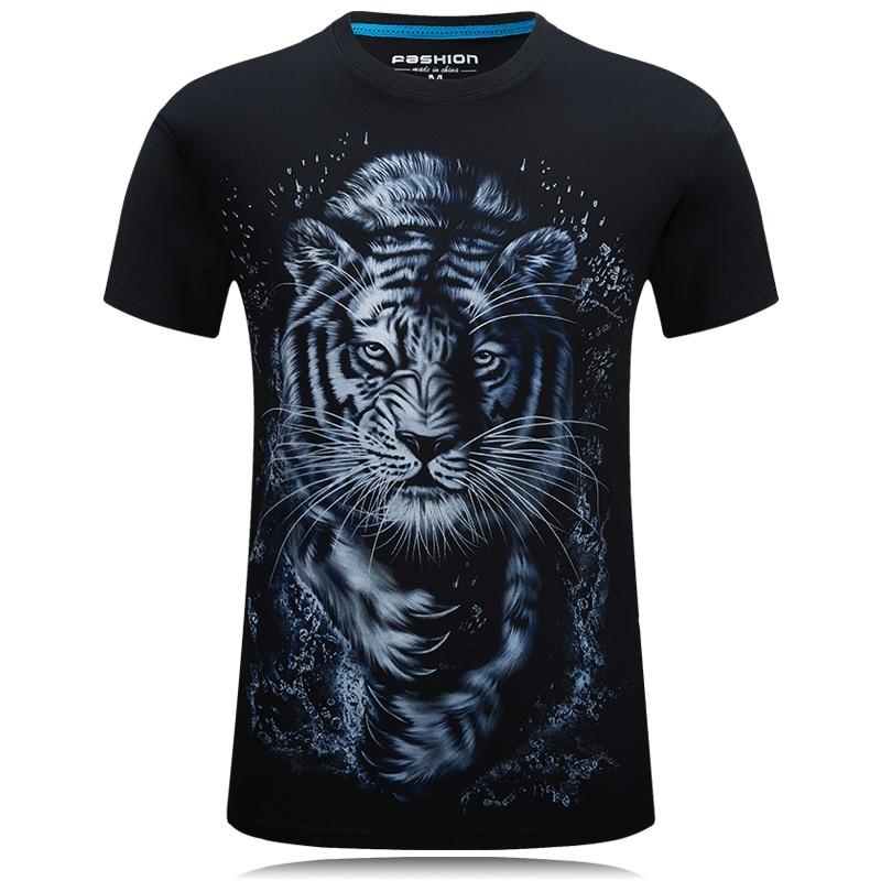 2018 Global penjualan New Fashion Brand T Shirt 3D Dicetak t-shirt Pria Musim Panas Tops & Tees Hip Hop Pria Tshirt Plus ukuran S-6XL
