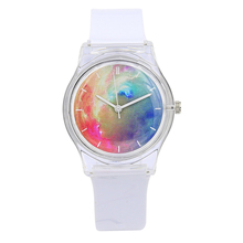 Harajuku Star Women Water Resistant Sports Jelly Watch