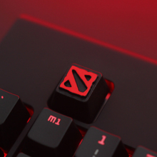 1 pcs Dota2 Zinc-aluminum key cap mechanical keyboard keycaps for personalization,R4 Keycap height