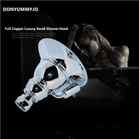 DONYUMMYJO Rainfall Shower Heads ,Good Quality Brass Chrome Finished Faucet Accessory Shower for Top Spray Faucet