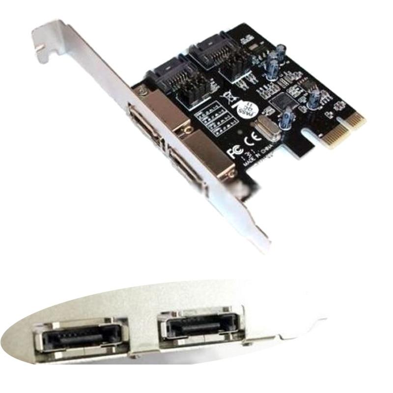 PCI-E To SATA3 PCI E SATA3.0 6Gb/s the SSD Asmedia Chip Expansion Card ASM1061 Connectors--M25 pci e to sata 3 0 ssd expansion board module green black