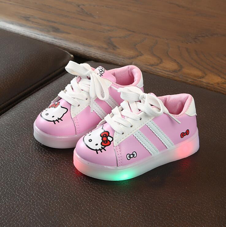 100% Wahr Kleinkind Jungen Schuhe Led Baby Mädchen Beleuchtung Schuhe Kinder Casual Schuhe Mit Licht Led Kinder Luminous Glowing Turnschuhe