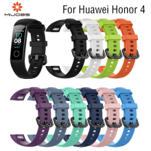 2019Silicone Huawei Honor 4 Wrist Strap for Huawei Honor 4 Smart Watch Sport Wrist Band Strap for Honor 4 Replace Smart Bracelet