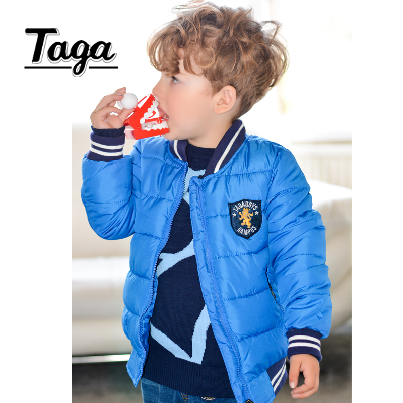 High quality TAGA cotton Boys Jacket New Year Boy Coats Winter Solid Christmas jackets Girls outerwear baby clothes -10 degrees children winter coats jacket baby boys warm outerwear thickening outdoors kids snow proof coat parkas cotton padded clothes