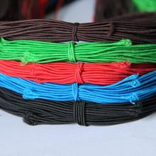 1.3mm High-Elastic Colorful Round Elastic Band Rope Rubber Band Elastic Line DIY Apparel Sewing Accessories Two dozen coolidge susan a round dozen