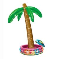 Inflatable Cooler Inflatable Palm Tree Party Supplies Beverage Coolers Luau Party Supplies Pool Toys 5.6 Feet Tall