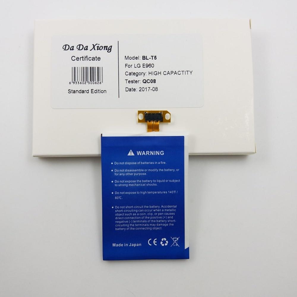 3700mah Bl T5 Battery For Lg Nexus 4 E960 E975 E973 F180 Short Circuit 7 5 2 3