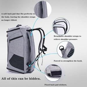 Image 2 - Сухая и влажная разделительная сумка через плечо, сумка для спорта, фитнеса, сумка для бизнеса, багажа, одежда, обувь, сумка для хранения, аксессуары, Органайзер