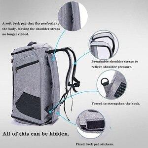 Image 2 - Bolsa de hombro con separación de ropa seca y húmeda, bolso deportivo para Fitness, equipaje de negocios, ropa, zapatos, bolsa de almacenamiento, organizador de accesorios