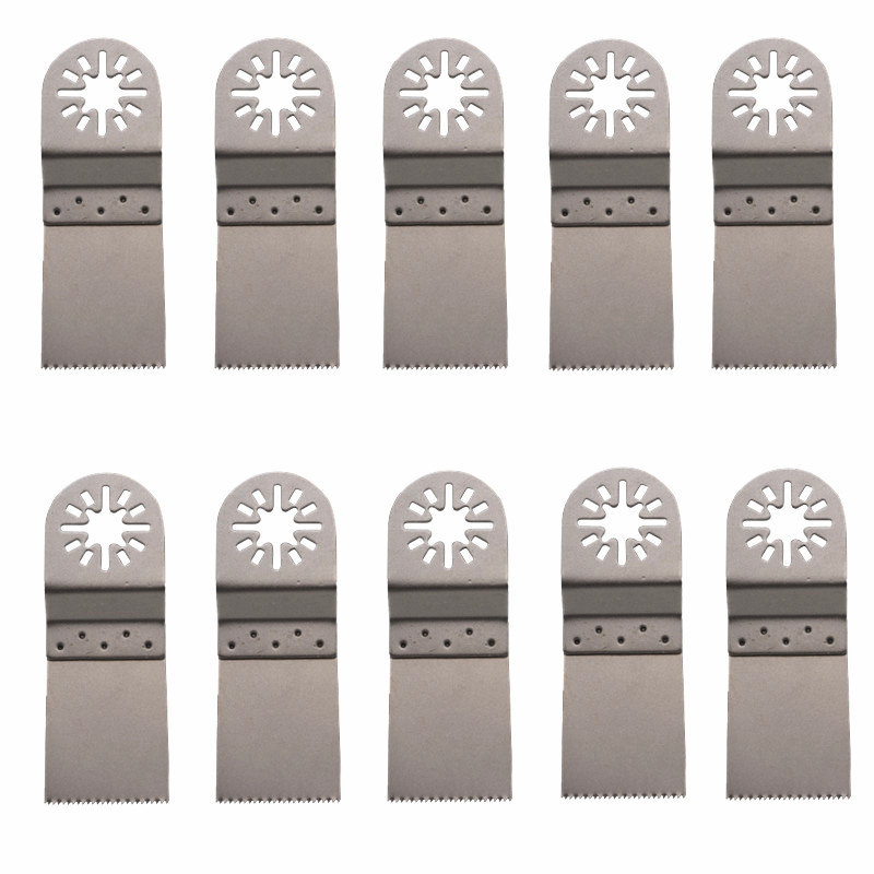 10Pcs 34mm Saw Blade HCS Oscillating Multi Tools For Metal Wood Cutting Woodworking For Renovator Fein Dremel Bosch Power Tools10Pcs 34mm Saw Blade HCS Oscillating Multi Tools For Metal Wood Cutting Woodworking For Renovator Fein Dremel Bosch Power Tools