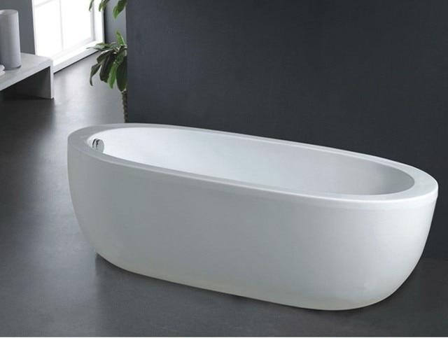 B528 Freestanding Bathtub Deep Soaking Portable For S