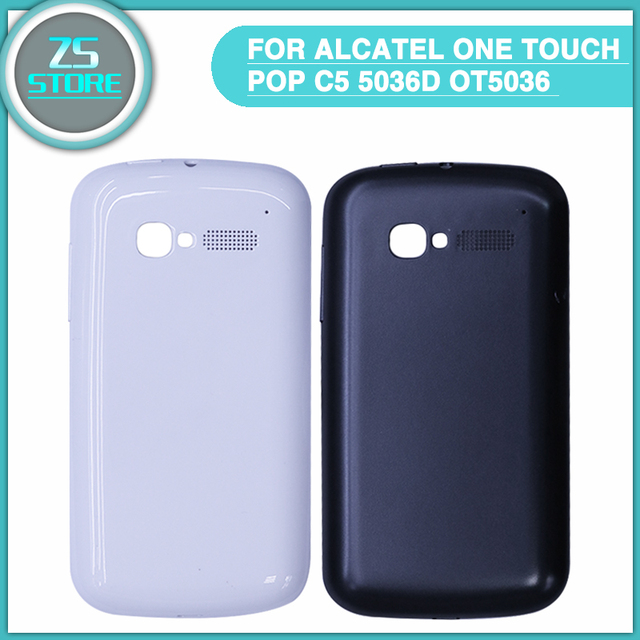 US $7 9 |new OT5036 Battery Cover For Alcatel One Touch Pop C5 5036D OT5036  OT5036D 5036 Back Battery Door Rear Housing Cover Case-in Mobile Phone