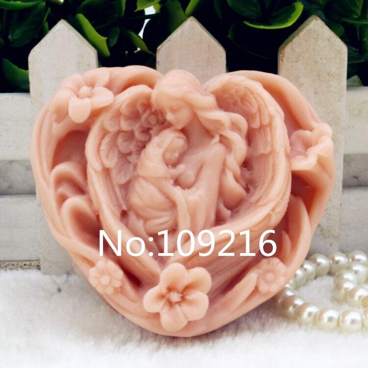 Продукт! 1 шт. Love Mum and Baby(zx199) силиконовая форма для мыла ручной работы поделки DIY прессформы