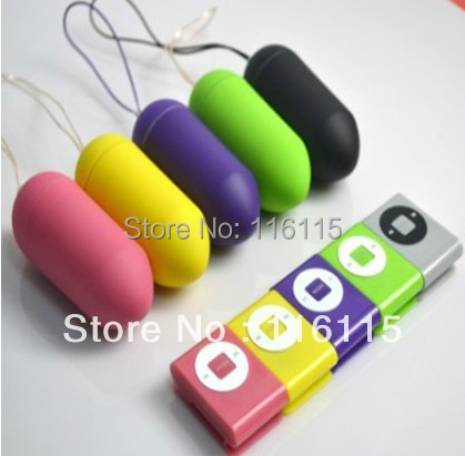 20ps/lot,mix color Mp3 Remote Wireless Waterproof Vibrating Egg for women,Adult Sex Toys,femal Vibrator