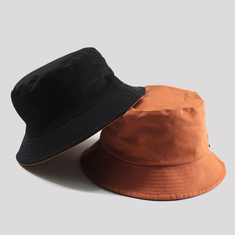 Large Size Fishing Hats Big Head Man Summer Sun Hat Two Sides Wear Panama Caps Plus Sizes Bucket Hats 57-59cm 60-62cm 63-64cm