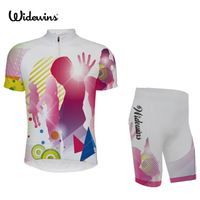widewins DJ Cycling Jersey Quick dry Cycling Skinsuit MTB Bike Jersey Ropa De Ciclismo Maillot Compression Sponge Padding 5387
