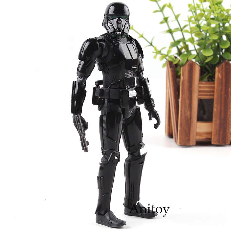 SHF Figura Rogue Uno: Un star Wars Story Morte Trooper PVC star Wars Figurine Collection Giocattoli di Modello della Bambola