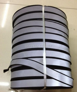 CSR - 100yards black Reflective ribbon reflective lattice/wholesale price to sell 3*1.5 cm width