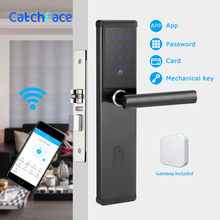 Elektronische Türschloss, Smart Bluetooth Digitale APP Wifi Tastatur Code Keyless Türschloss, Passwort Keyless Türschloss