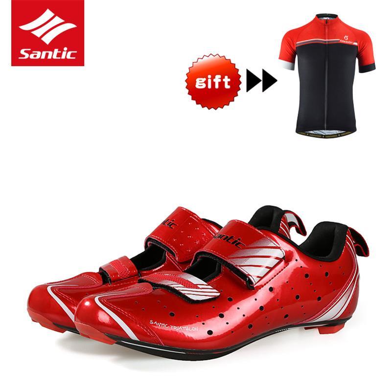 Santic Mens Cycling Shoes Pro Triathlon Racing 2019 Bike Shoes Athletic Self Locking Bicycle Shoes Sneakers Zapatillas Ciclismo|zapatillas ciclismo|mens cycling shoes|bike shoes - title=