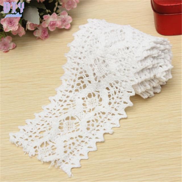 Aliexpress Buy 8cm Width Vintage Cotton Crochet Scallop