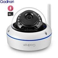 GADINAN Wifi Camera Yoosee APP ONVIF IP Camera 1080P 960P 720P Microphone Audio Night Vision Vandal proof SD Card Outdoor Camera