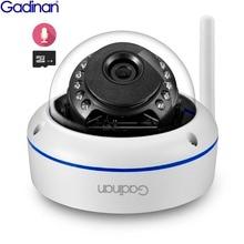 Gadinan Wifi 카메라 Yoosee APP ONVIF IP 카메라 2.0MP 1080P 마이크 오디오 나이트 비전 파손 방지 SD 카드 실외 카메라
