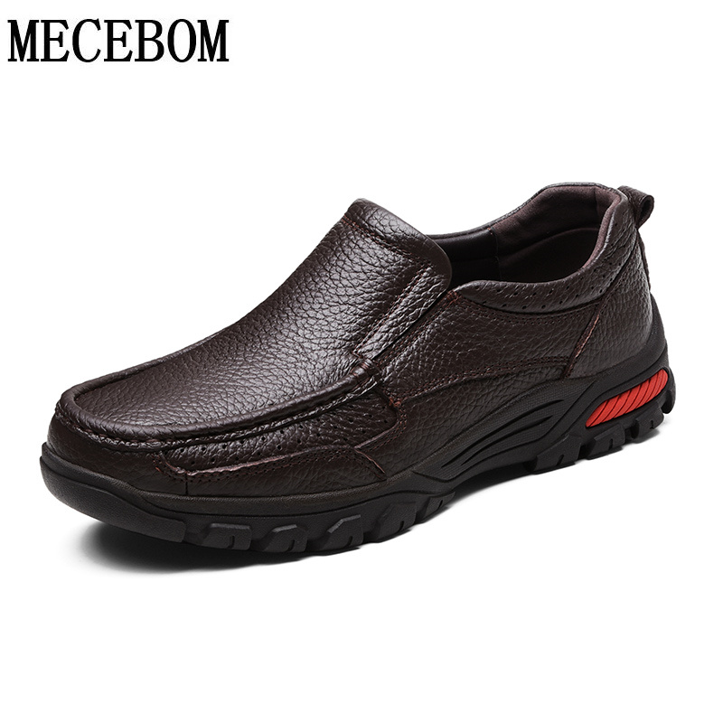 Men's genuine leather loafers shoes quality winter warm fur casual boat shoes for male slip-on men shoes big size 38-48 9087m new 2017 men s genuine leather casual shoes korean fashion style breathable male shoes men spring autumn slip on low top loafers