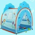 O melhor presente mais recentes das crianças brincar de casinha barraca de rosa e azul crianças